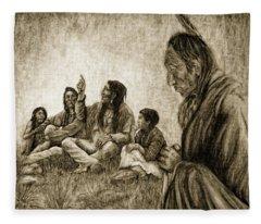Tales Passed On Fleece Blanket