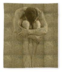 The Artist Fleece Blanket