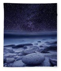 The Cosmos Fleece Blanket