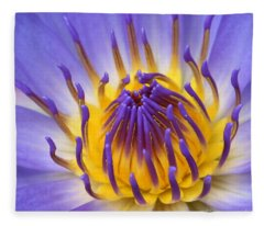 The Lotus Flower Fleece Blanket