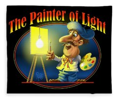 The Painter Of Light Fleece Blanket