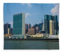 United Nations Fleece Blanket