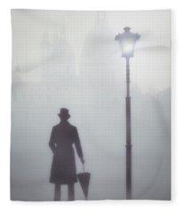 Victorian Man Fleece Blanket