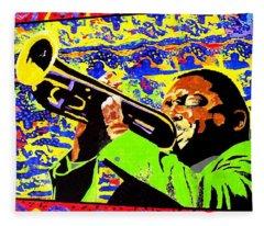 Wynton Marsalis Plays Louis Armstrong Fleece Blanket