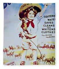 20 Mule Team Fleece Blanket