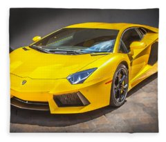 2013 Lamborghini Adventador Lp 700 4 Fleece Blanket