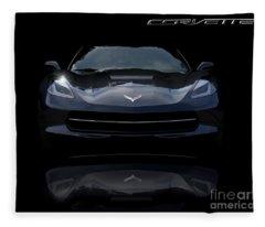 2014 Corvette Stingray Fleece Blanket