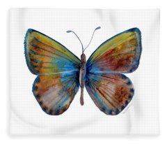 22 Clue Butterfly Fleece Blanket