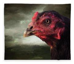 22. Game Hen Fleece Blanket