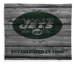 New York Jets Fleece Blanket