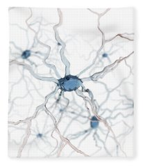 Neurons Fleece Blanket
