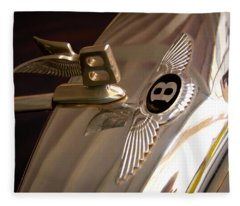 1956 Bentley S1 Fleece Blanket