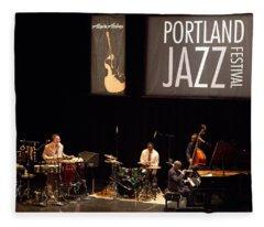 3 Ahmad Jamal Pdx Jazz Fest 21feb14 Fleece Blanket