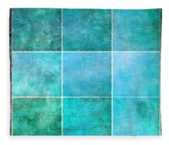 3 By 3 Ocean Fleece Blanket