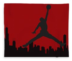 Chicago Bulls Fleece Blanket