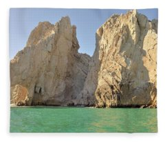 El Arco De Cabo San Lucas Fleece Blanket