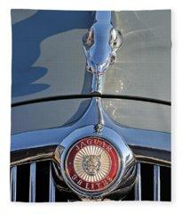 1966 Jaguar 3.8 S-type Fleece Blanket