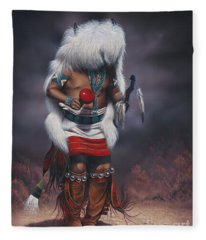 Mystic Dancer Fleece Blanket