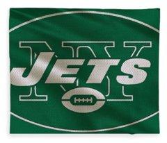 New York Jets Uniform Fleece Blanket