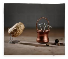 Simple Things -  Strange Birds Fleece Blanket