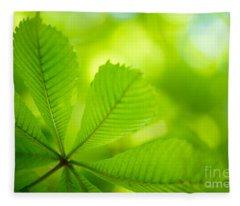 Spring Green Fleece Blanket