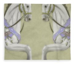 Carousel Canopy Fleece Blanket