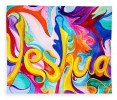 Yeshua Fleece Blanket
