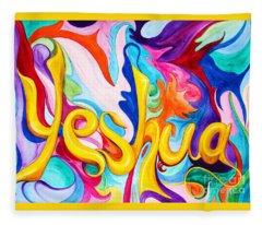 Yeshua Fleece Blanket