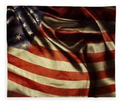 American Flag 51 Fleece Blanket