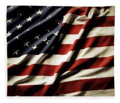 American Flag 61 Fleece Blanket
