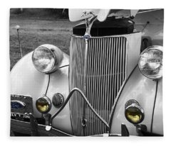 '36 Ford Coupe Fleece Blanket