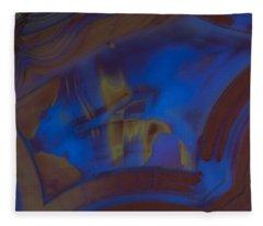 Blue Rock Design Fleece Blanket