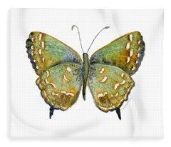 38 Hesseli Butterfly Fleece Blanket