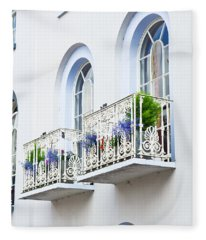 Balconies Fleece Blanket