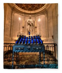 Basilica Of Saint Mary Fleece Blanket