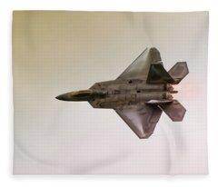 F-22 Raptor Fleece Blanket