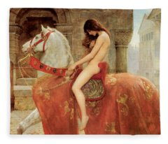 Lady Godiva Fleece Blanket