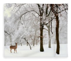 Winter's Breath Fleece Blanket