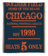 Chicago Bears Fleece Blanket