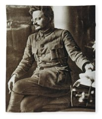 Leon Trotsky (1879-1940) Fleece Blanket