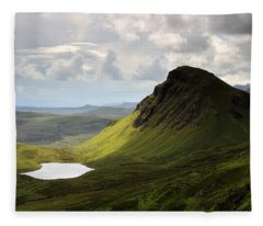The Quiraing Fleece Blanket