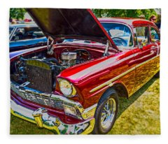 56 Chevy Fleece Blanket