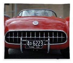 56 Corvette Fleece Blanket