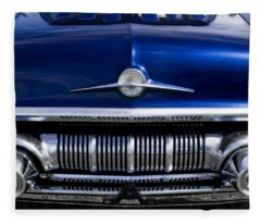 '57 Pontiac Safari Starchief Fleece Blanket