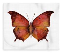 58 Andria Butterfly Fleece Blanket
