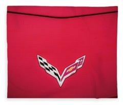 2014 Chevrolet Corvette C7  Fleece Blanket