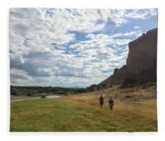Exploring Big Bend National Park Fleece Blanket