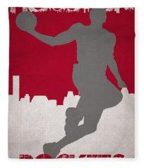 Houston Rockets Fleece Blanket