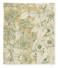 Leaves From Nature Fleece Blanket