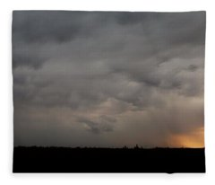 Let The Storm Season Begin Fleece Blanket